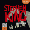 Couverture Simetierre Editions Audiolib 2019