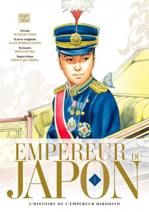Couverture Empereur du Japon, tome 1 : L'histoire de l'empereur Hirohito