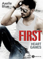 Couverture First. Heart Games Editions Addictives 2019