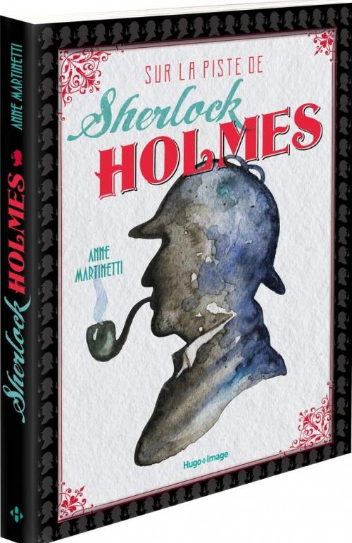 Couverture Sur la piste de Sherlock Holmes