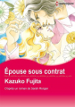 Couverture Epouse par contrat Editions Harlequin (Manga) 2017