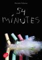 Couverture 54 minutes Editions Le Livre de Poche (Jeunesse) 2019