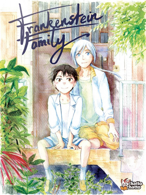 Couverture Frankenstein Family, tome 1