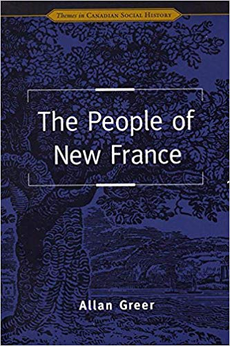 Couverture The People of New France