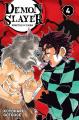 Couverture Les rôdeurs de la nuit / Demon Slayer, tome 04 Editions Panini (Manga) 2019