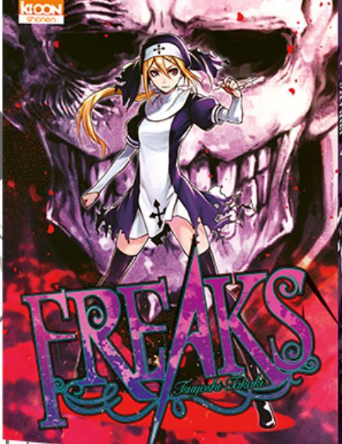 Couverture Freaks