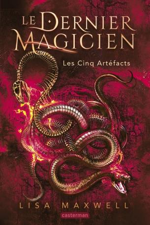 Couverture Le Dernier Magicien, tome 2 : Les cinq artéfacts