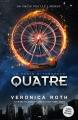 Couverture Divergente raconté par Quatre, édition augmentée Editions AdA 2015