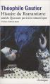 Couverture Histoire du romantisme Editions Folio  (Classique) 2011