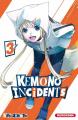 Couverture Kemono Incidents, tome 03 Editions Kurokawa (Shônen) 2019