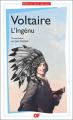Couverture L'ingénu  Editions Flammarion (GF) 2017