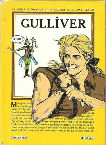 Couverture Gulliver (BD)