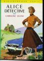 Couverture Alice détective Editions Hachette (Bibliothèque verte) 1964