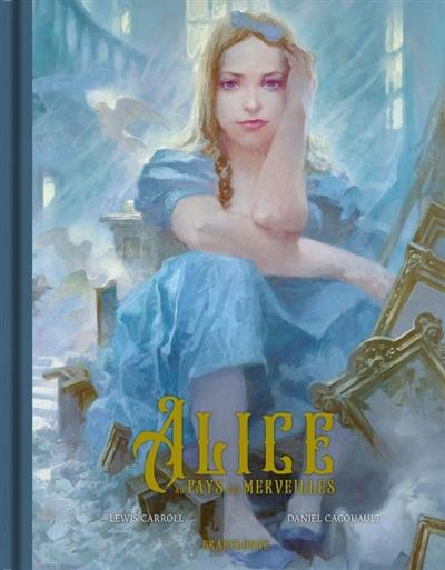 Couverture Alice au pays des merveilles (Cacouault)