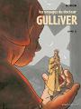 Couverture Les Voyages du Docteur Gulliver, tome 2 Editions Vents d'ouest 2017