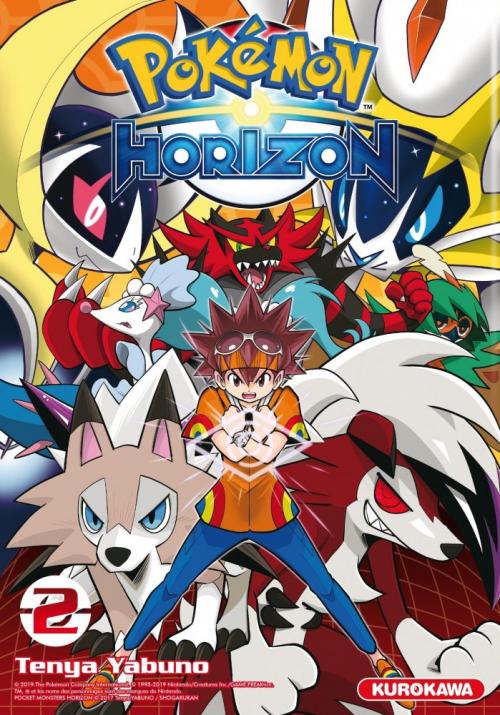 Couverture Pokemon Horizon, tome 2