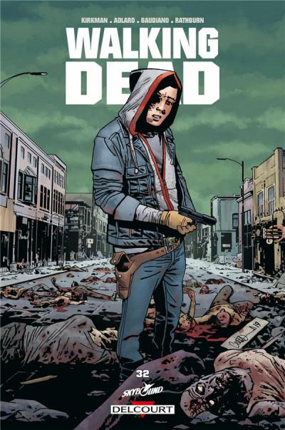 Couverture Walking dead, tome 32 : La fin du voyage.