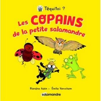 Couverture Les copains de la petite salamandre, tome 1 : Le hibou, la grenouille, la coccinelle