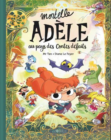 Couverture Mortelle Adèle au pays des contes défaits