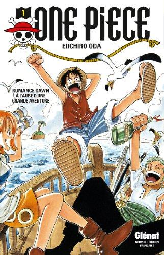 Couverture One Piece, tome 01 : A l'aube d'une grande aventure