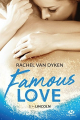 Couverture Famous Love, tome 1 : Lincoln Editions Milady 2018