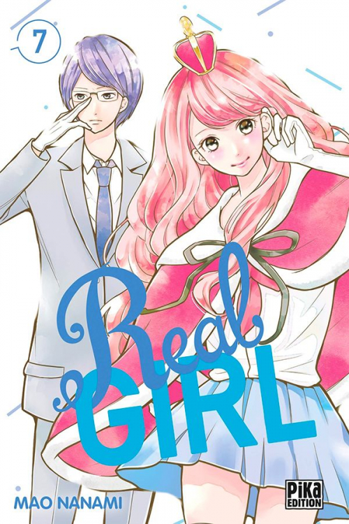 Couverture Real Girl, tome 7