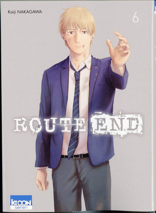 Couverture Route end, tome 6