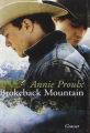 Couverture Brokeback mountain Editions Grasset 2006