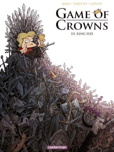 Couverture Game of Crowns, Tome 3 : King size