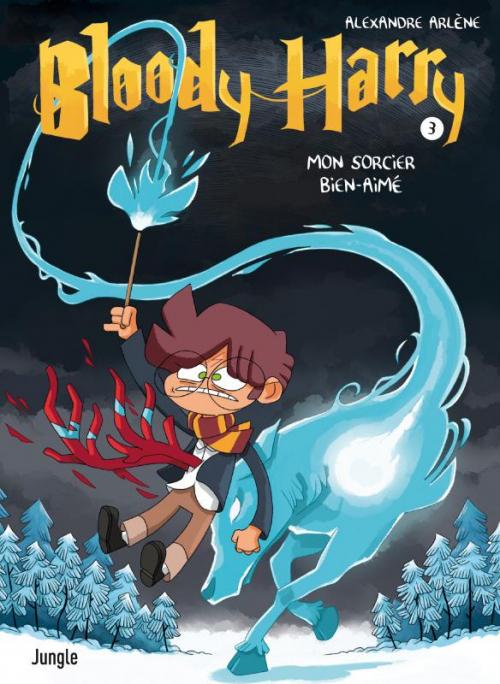 Couverture Bloody Harry, tome 3 : Mon sorcier bien aimé