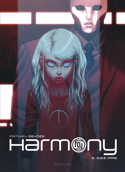 Couverture Harmony, tome 5 : Dies irae