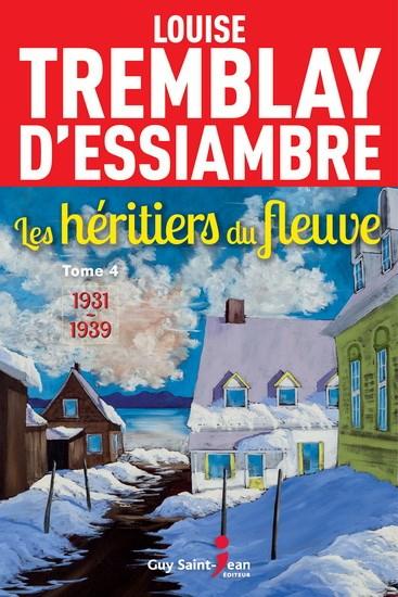 Couverture Les Héritiers du fleuve, tome 4 : 1931-1939