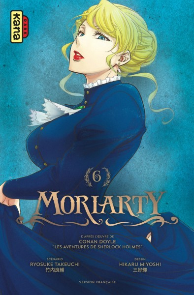 Couverture Moriarty, tome 6