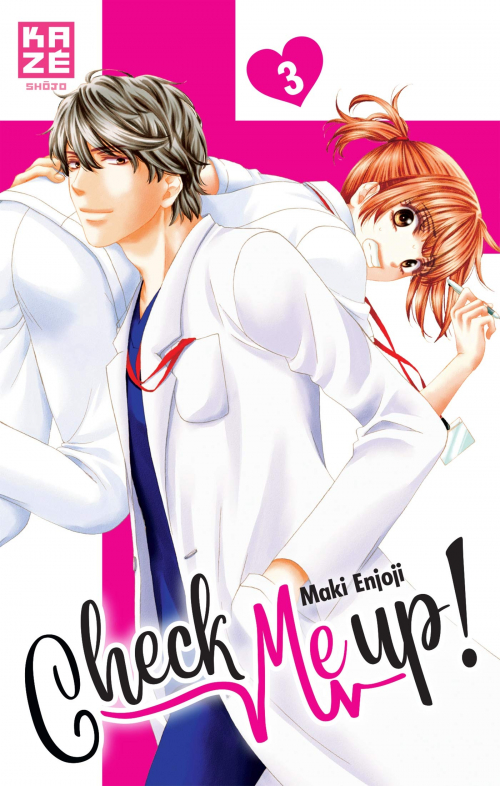 Couverture Check me up !, tome 3