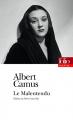 Couverture Le Malentendu Editions Folio  (Théâtre) 2018