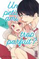 Couverture Un petit ami trop parfait ?, tome 1 Editions Kana (Shôjo) 2019