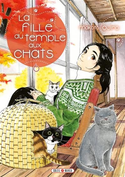 Couverture La fille du temple aux chats, tome 6