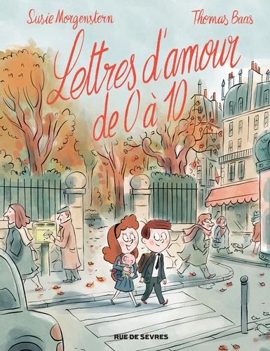Couverture Lettres d'amour de 0 à 10 (BD)