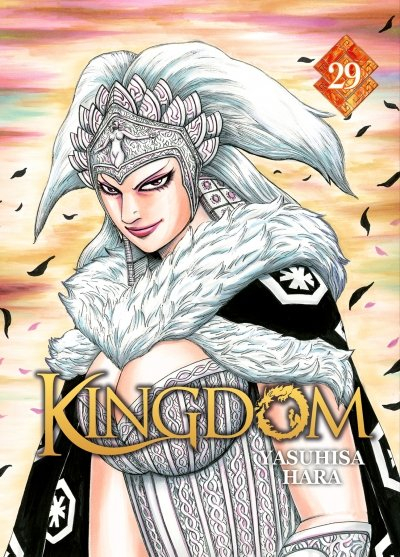 Couverture Kingdom, tome 29