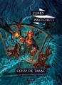 Couverture Les Annales du Disque-Monde, tome 34 : Coup de tabac Editions L'Atalante (La Dentelle du cygne) 2019