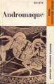 Couverture Andromaque Editions Larousse (Nouveaux classiques) 1965
