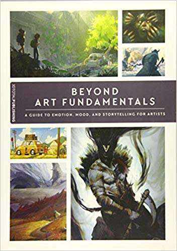 Couverture Beyond Art Fundamentals: A Guide to Emotion, Mood, and Storytelling for Artists