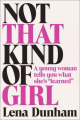 Couverture Not that kind of girl Editions Random House 2014