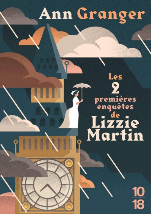 Couverture Les 2 premières enquêtes de Lizzie Martin
