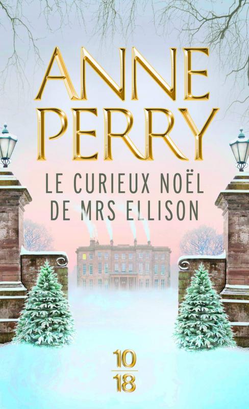 Couverture Le Curieux Noël de Mrs Ellison