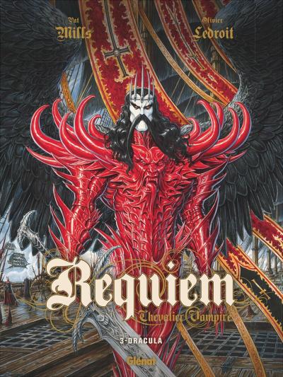 Couverture Requiem Chevalier Vampire, tome 03 : Dracula