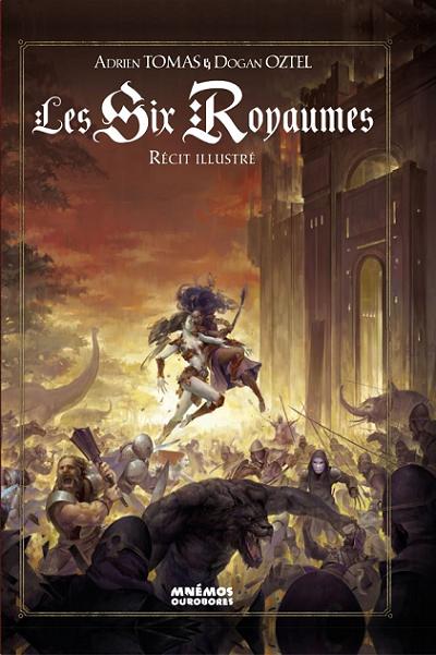 Couverture Les Six Royaumes - Récit illustré
