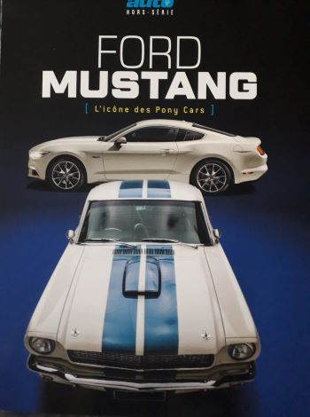 Couverture Ford Mustang L'icône des Pony Cars