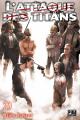 Couverture L'Attaque des Titans, tome 29 Editions Pika (Seinen) 2019
