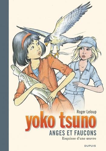 Couverture Yoko Tsuno, tome 29 : Anges et Faucons